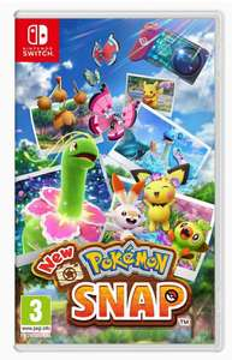 New Pokémon Snap, Switch