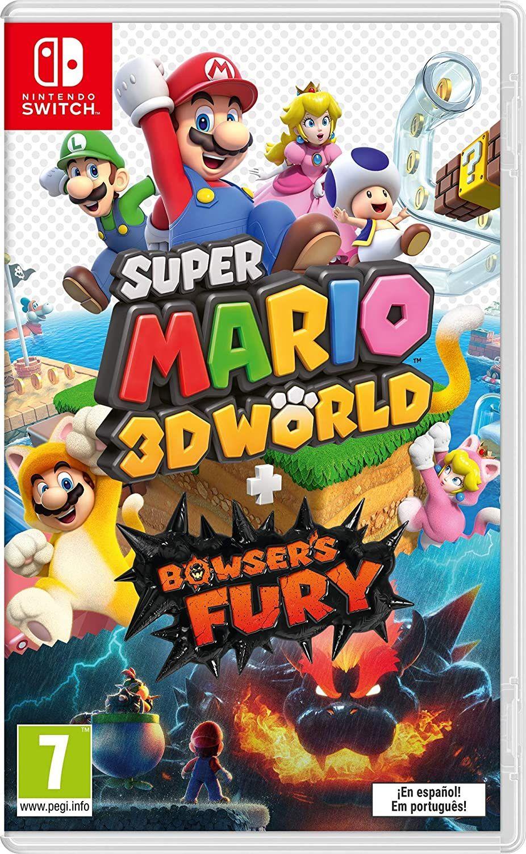 Super Mario 3D World + Bowser's Fury - Nintendo Switch [Amazon.es]