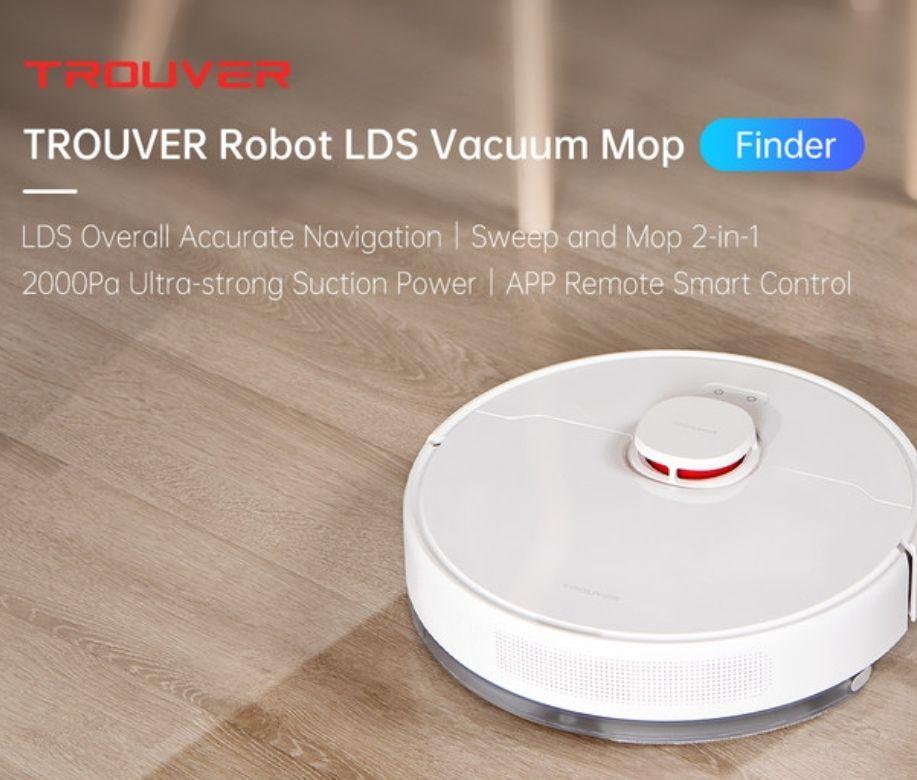 Xiaomi Trouver finder lds laser 360° smart stofzuiger&dweil