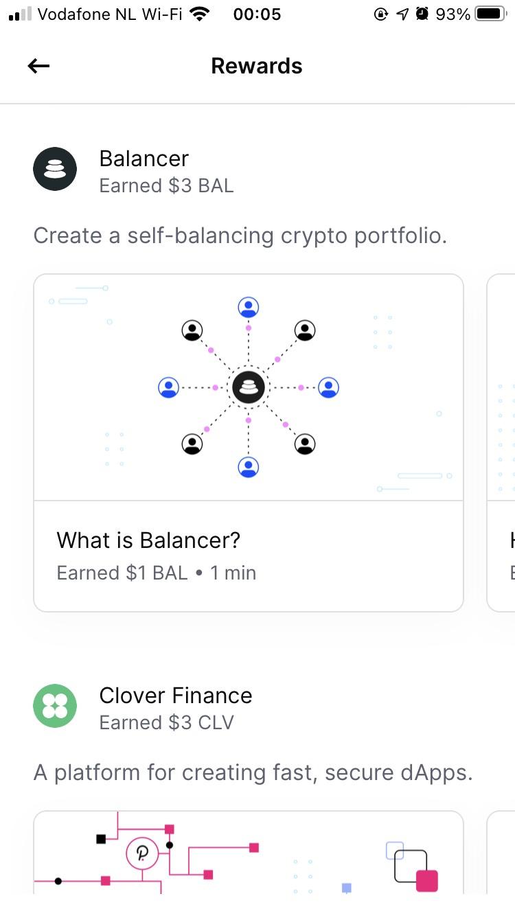 Gratis 3$ aan crypto bij coinbase Bal