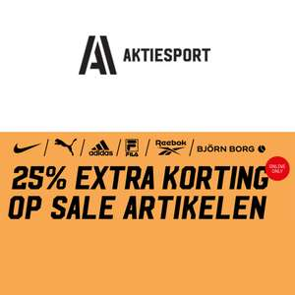 SALE + 25% EXTRA @ Aktiesport