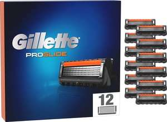 Gillette ProGlide 12x Scheermesjes @ Bol.com