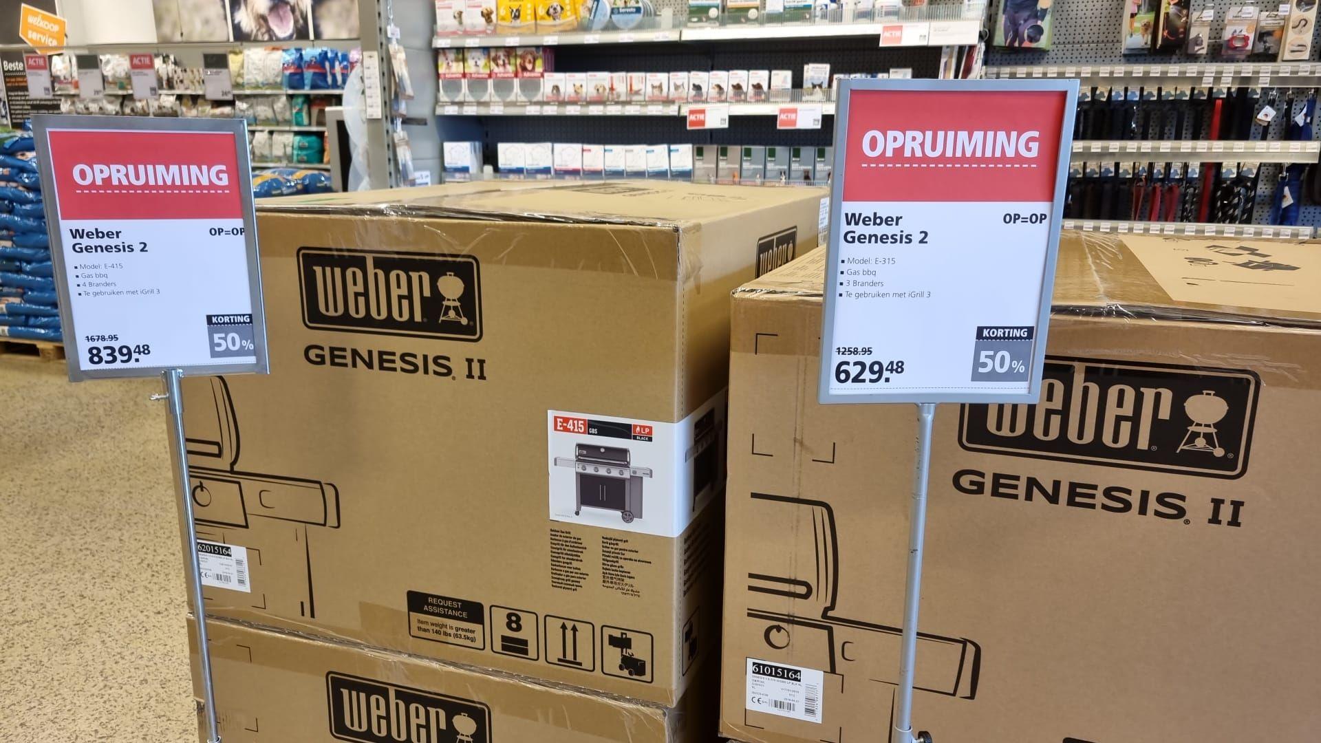 Weber Genesis 2 (E-415/E-315) 50% korting | Welkoop Heerenveen