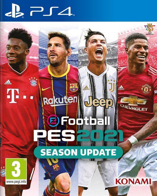 eFootball Pro Evolution Soccer 2021 (PES) voor PS4 (digital)