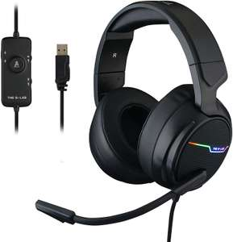 The G-LAB Korp THALLIUM Gaming Headset USB 7.1 Digital Surround Sound