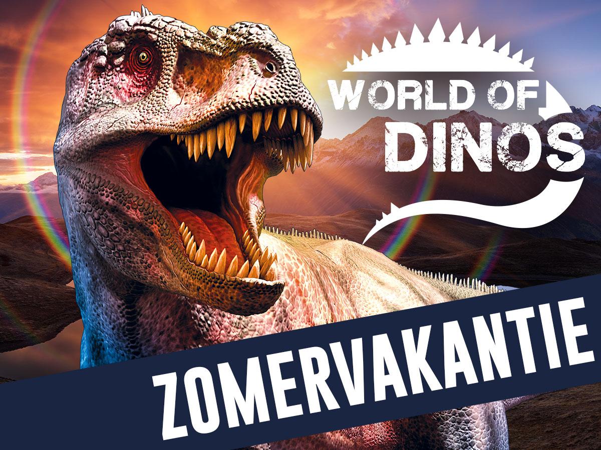 World of Dino's - Entreetickets voor Den Bosch of Den Haag