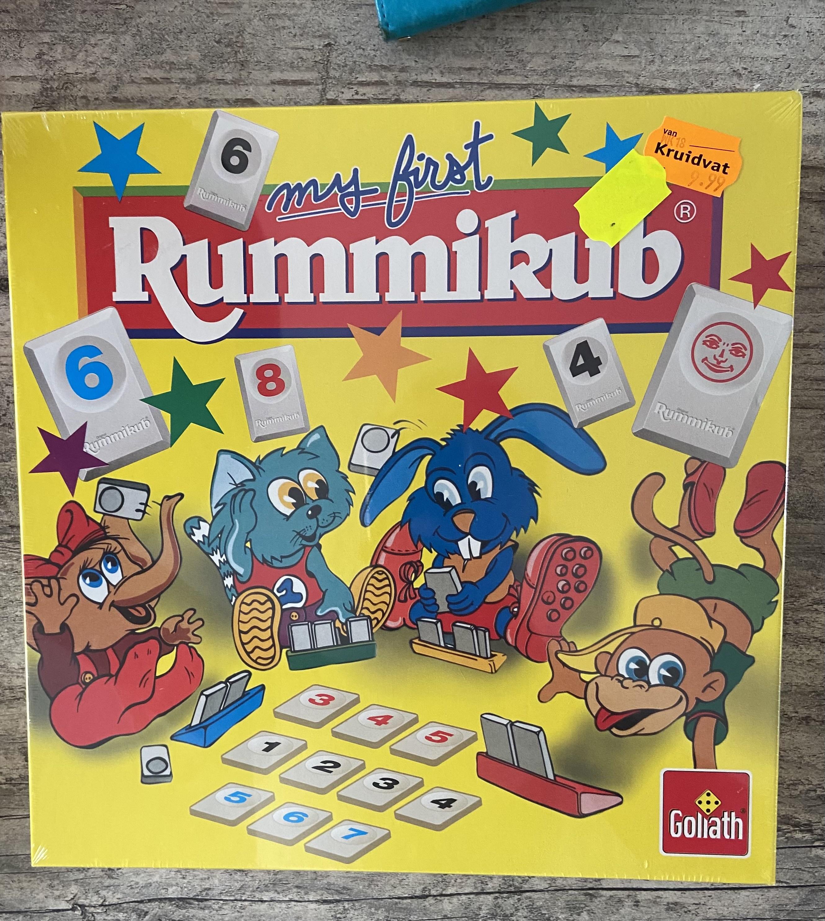 Mijn eerste Rummikub (Kinder rummikub) @Kruidvat