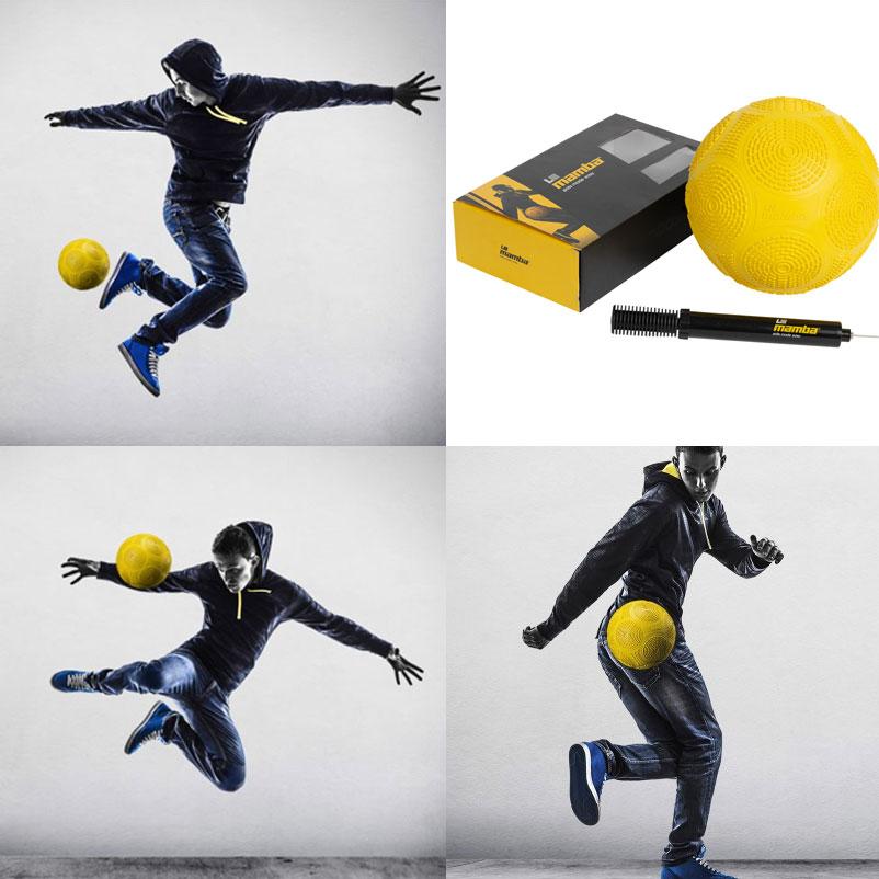 Mamba Freestyle voetbal + balpomp
