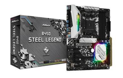 ASRock B450 Steel Legend, socket AM4 moederbord, 25 euro korting