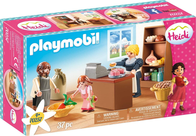 PLAYMOBIL Heidi - Buurtwinkel van de Kellers (70257)