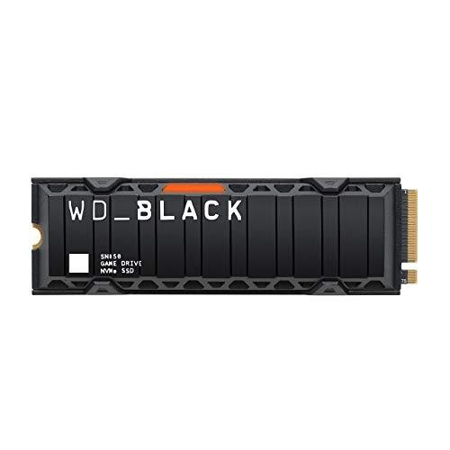 WD_BLACK SN850 1TB NVMe Interne Gaming SSD; PCIe Gen4 Technology, tot 7000 MB/s leessnelheden, M.2 2280