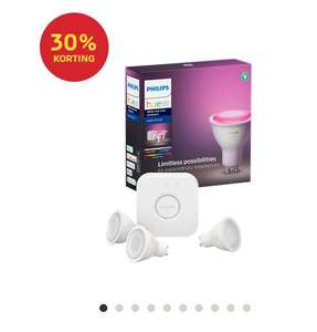 Philips Hue GU10 White and color starter set