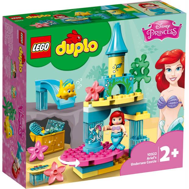 2x LEGO Duplo Disney Ariëls Onderzeese kasteel 10922 voor €29 @ Blokker