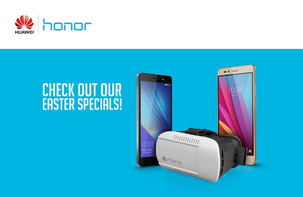 Paasactie op Honor 7 en 5X (Honor 7 - €299) @ Vmail