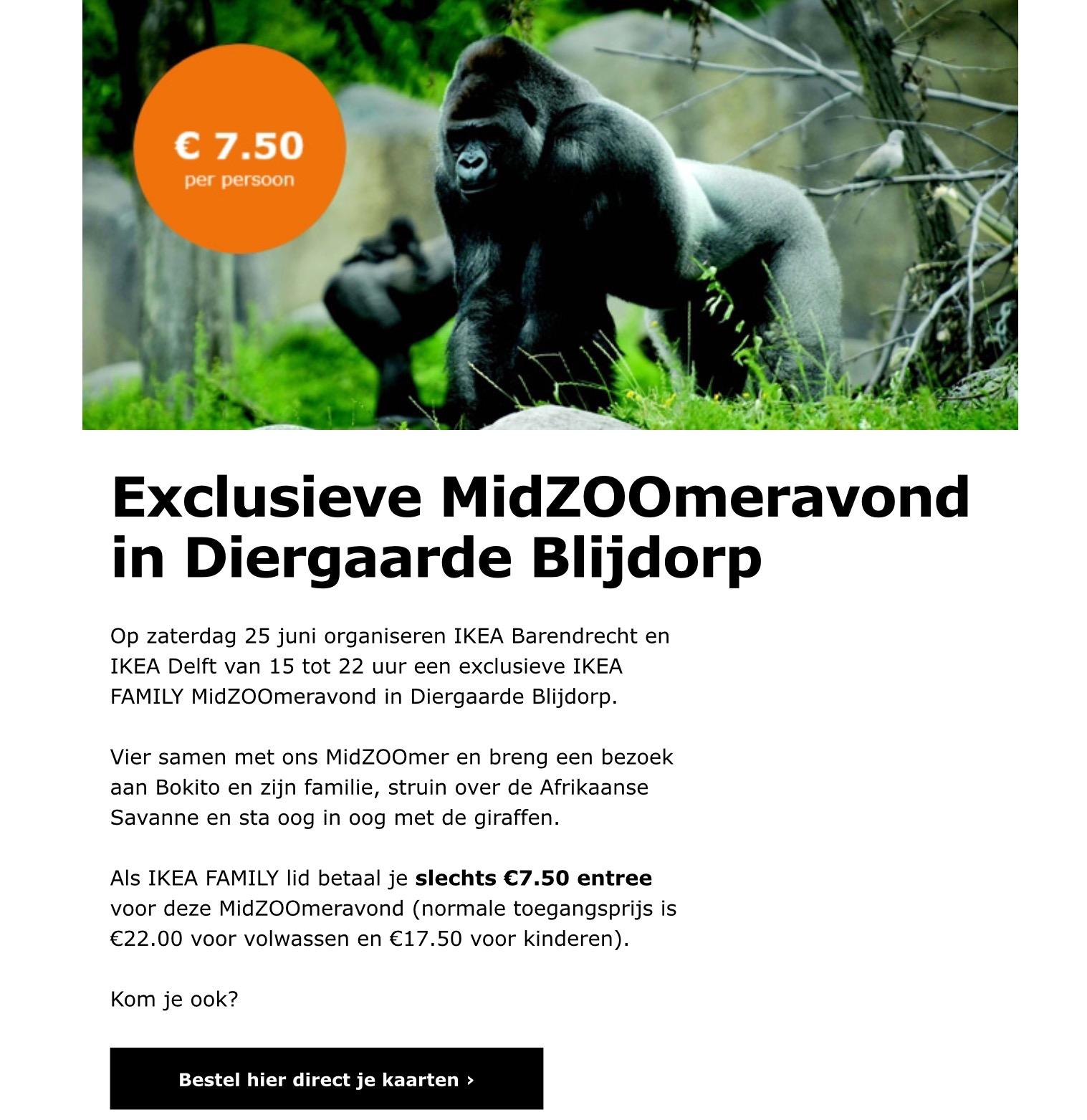 Met IKEA Voor 7,50,- naar Blijdorp