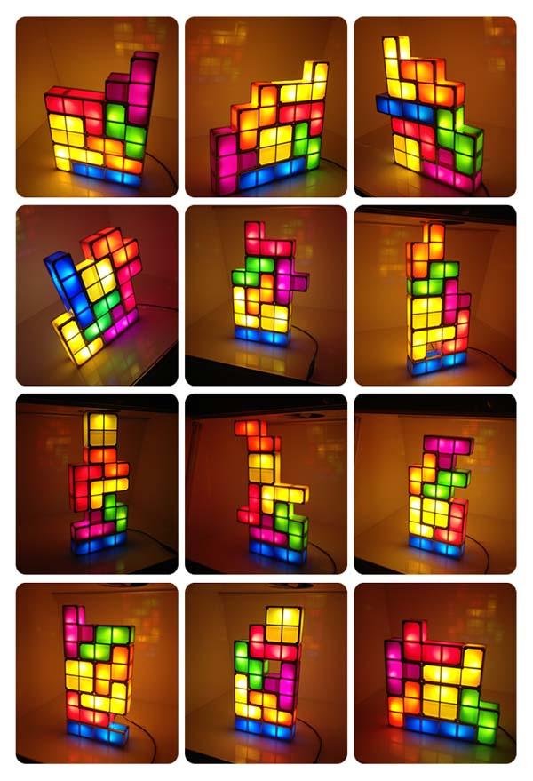 Tetris Ledlamp @ Banggood