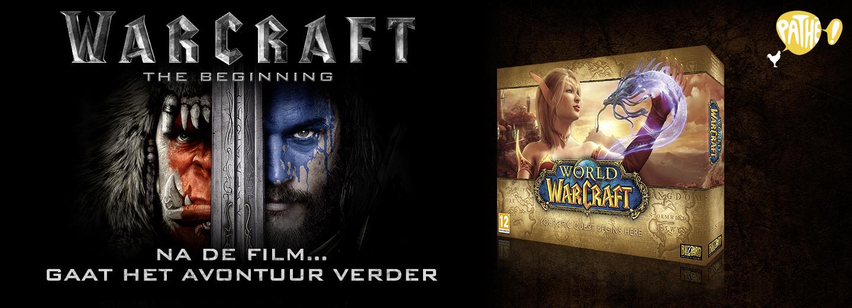 Gratis World of Warcraft (+DLC) bij kaartje film Warcraft