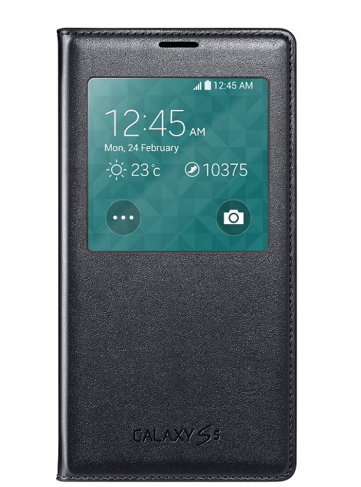 Samsung S-View Cover Galaxy S5 Black voor €1 (+€2,50 verzending) @ Typhone