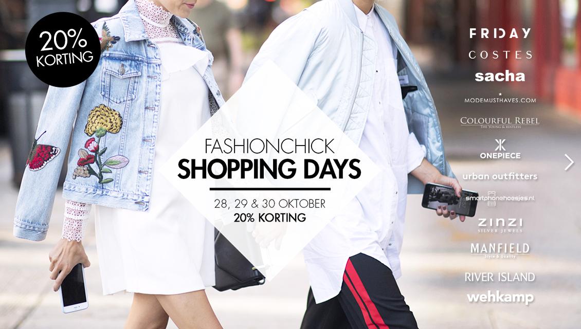 Shopping Days (-20% bij 12 shops) @ Fashionchick