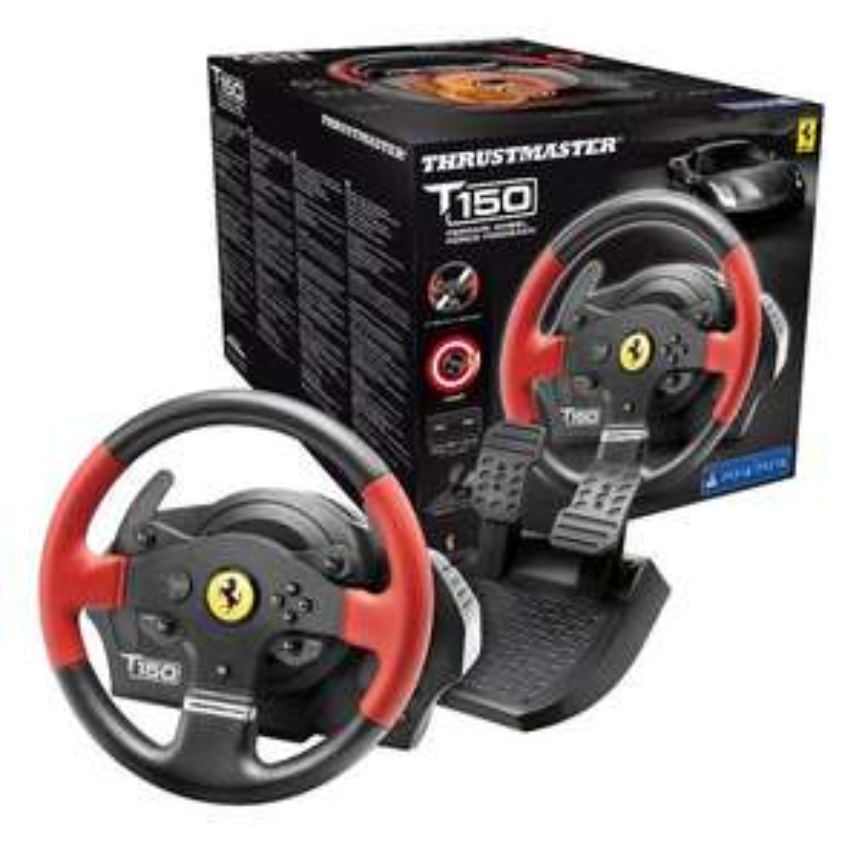 Thrustmaster T150 RS Ferrari Edition voor €83,99 @ Webstore.be