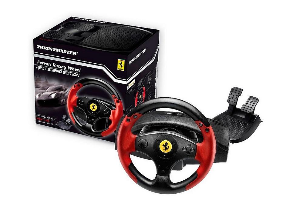 Thrustmaster Ferrari Racing Wheel Red Legend voor €39,99 @ Webstore.be