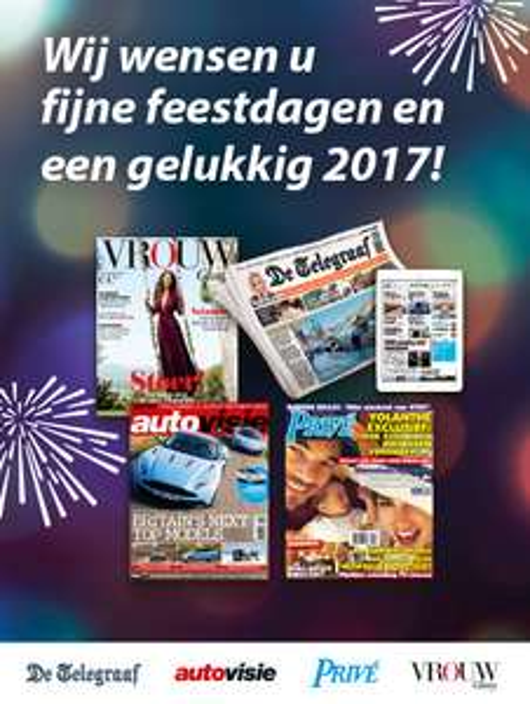 Gratis Telegraaf, Autovisie, Prive of Vrouw Glossy via Spotta @ De Telegraaf
