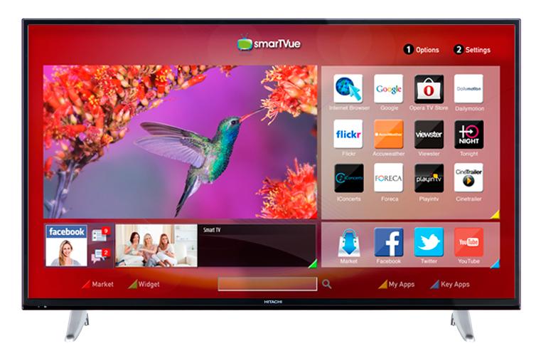 Hitachi 49HBT62 - 49-inch (124 cm) Full HD Smart TV met ingebouwde Wi-Fi voor 333 EURO