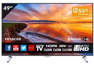 Alleen vannacht (tot 9:00): de HITACHI 49HGW69 voor 388 Euro bij Mediamarkt