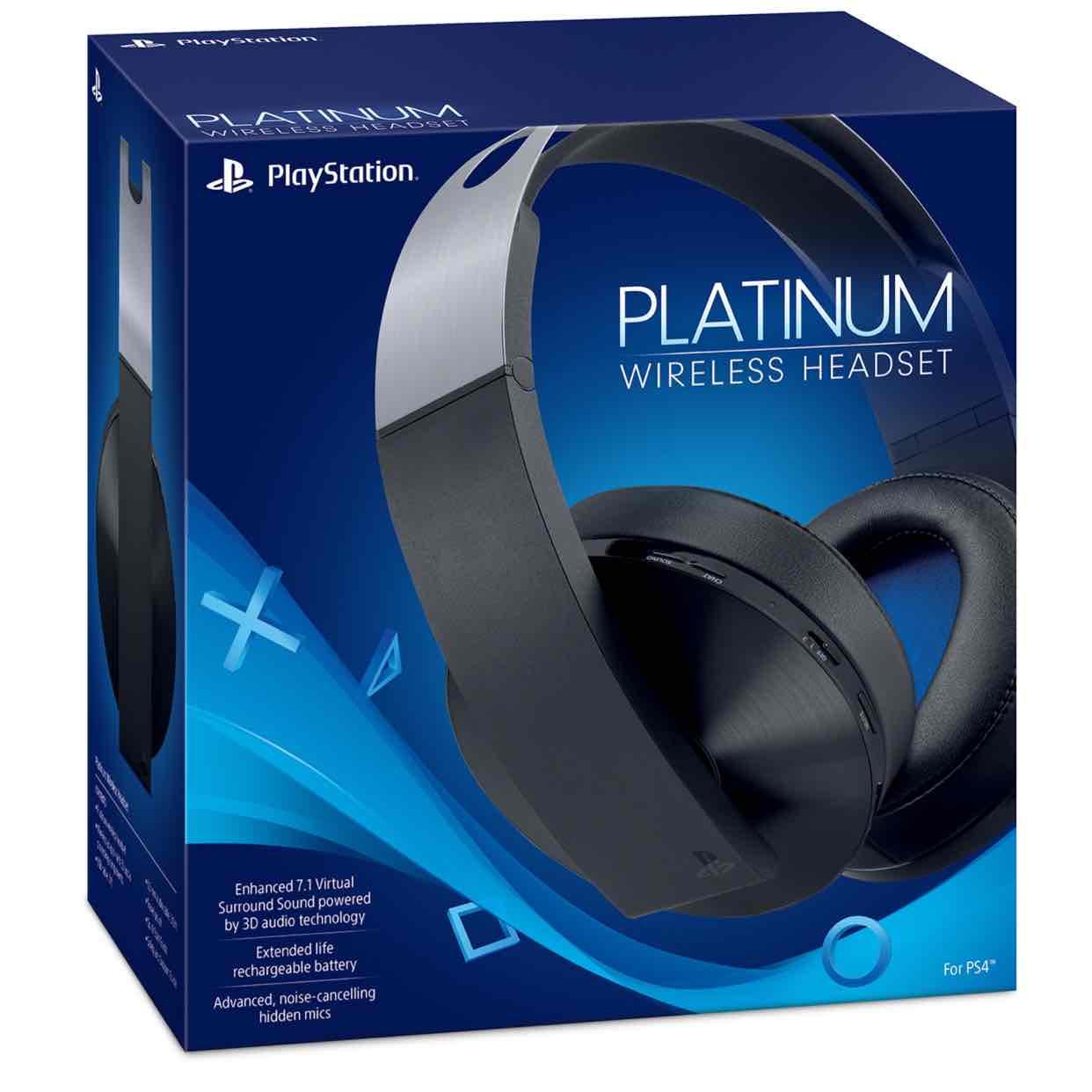 Sony PlayStation Wireless Platinum 7.1 headset