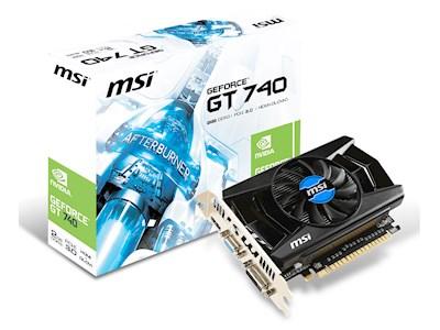 MSI GeForce GT 740 2GB DDR3 voor €79 @ NoRRoD