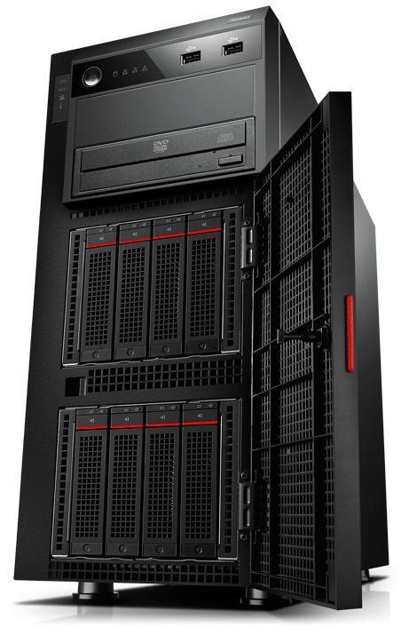 PRIJSFOUT (?): Lenovo ThinkServer TD340 (70B7000GEU) Towerserver voor €670,28 @ Misco
