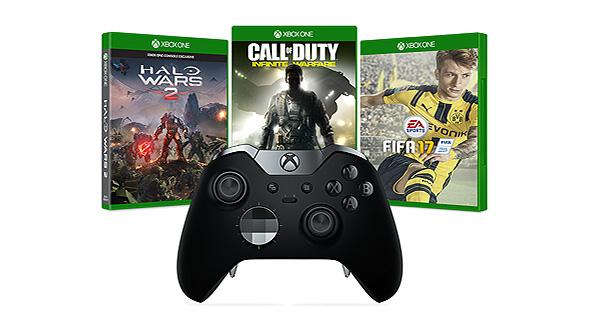 Xbox Elite Controller + Gratis game voor €117 @ Microsoft UK