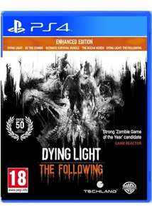 Dying Light: The Following Enhanced edition (PS4) voor €16,25 @ Base