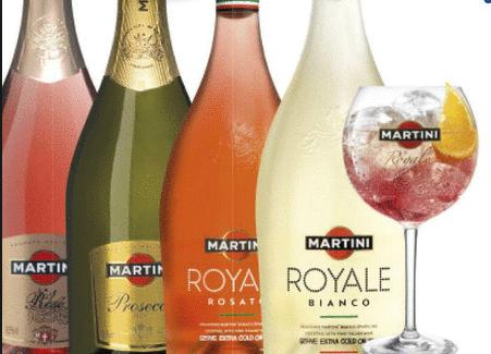 1+1 Gratis op alle Martini bubbels @ AH.nl