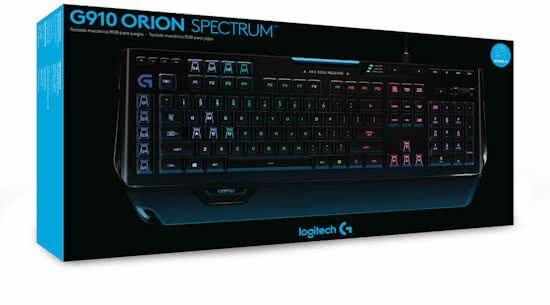 Logitech G910 Orion Spectrum - RGB Mechanisch Gaming Toetsenbord - Qwerty