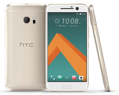 "HTC 10 - Snapdragon 820, 5.2"" AMOLED, 1440 x 2560 Pixel, 12 MP, 4GB / 32 GB (topaz gold) @ Amazon.it"