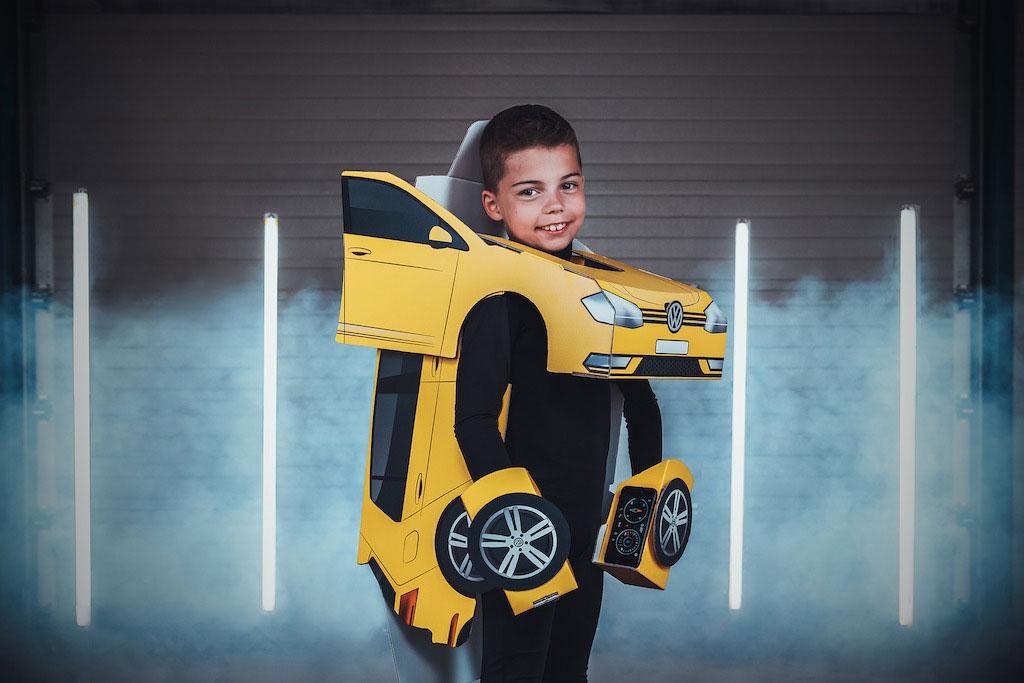 Gratis Robopak uit VW reclame @ Volkswagen Dealer