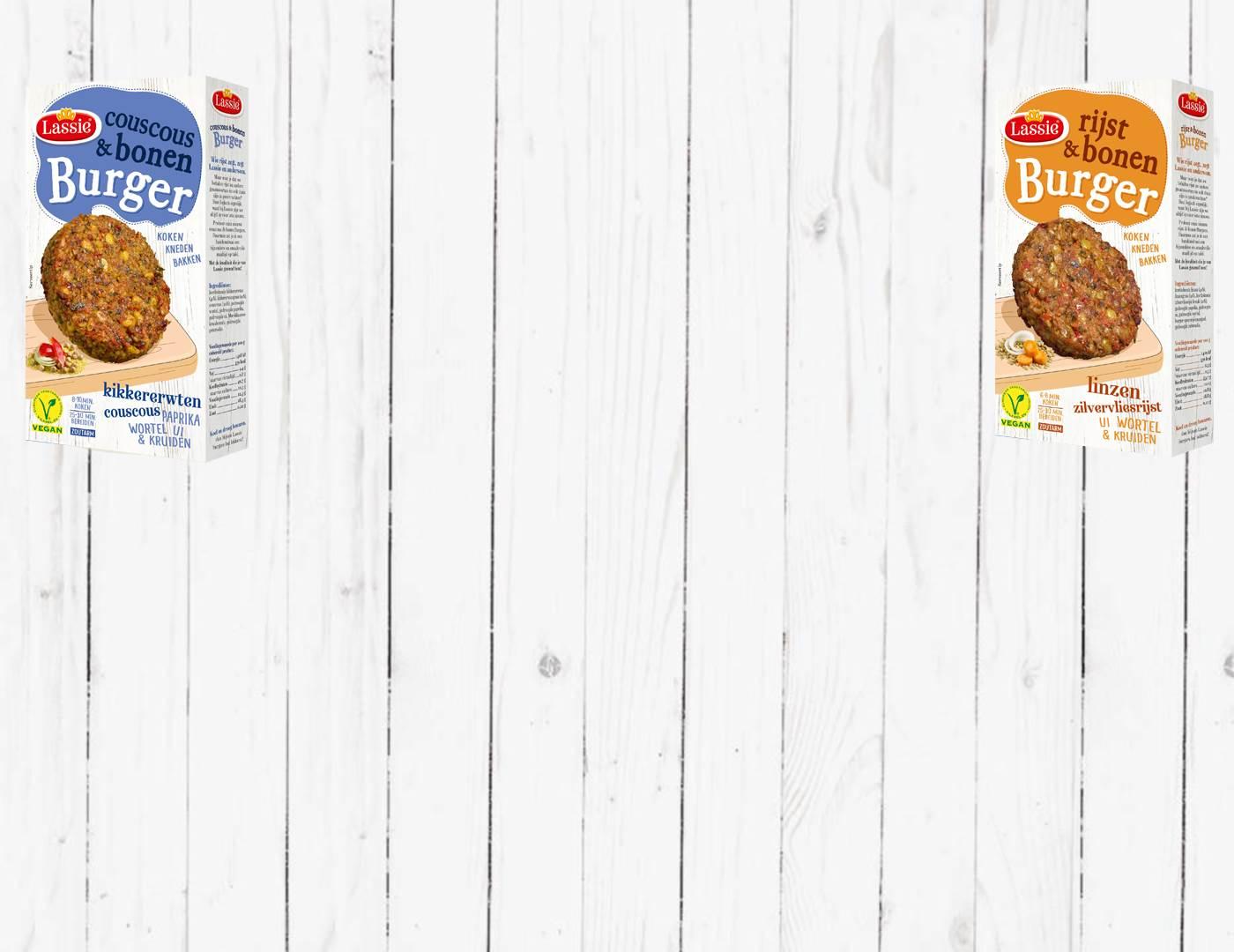 Gratis (op uitnodiging) Lassie Burger Mixen Couscous of Rijst