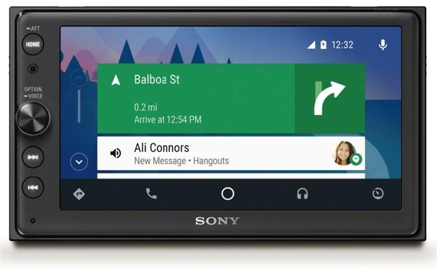 Android Auto/Apple CarPlay Autoradio Sony