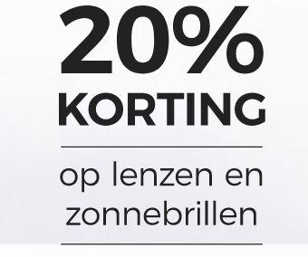 [UPDATE] Actie: 20% korting op lenzen, zonnebrillen en accessoires @ LensWay