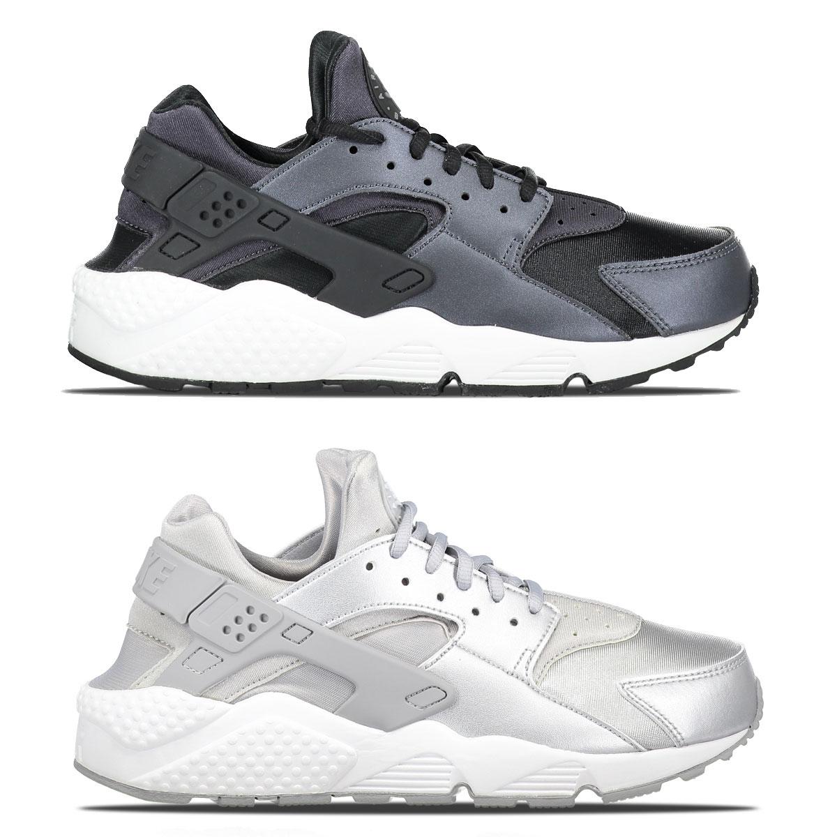 Nike Huarache Run SE - zwart of zilver €52,49 @ Men at Work