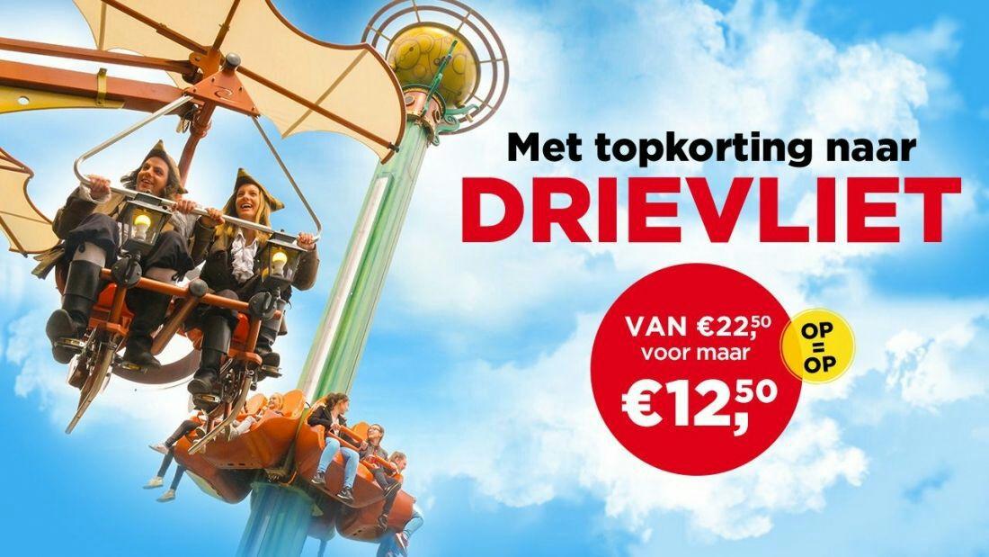 Familiepark Drievliet voor €12,50 @ SBS6