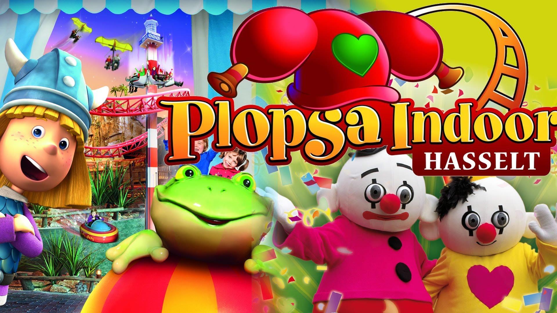 1 + 1 gratis ticket met kortingscode voor Plopsa Indoor Hasselt