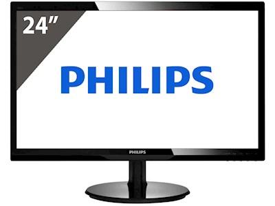 """[PRIJSFOUT?] Philips V-Line 246V5LHAB - 24"""" Monitor voor €43,95 @ Norrod"""