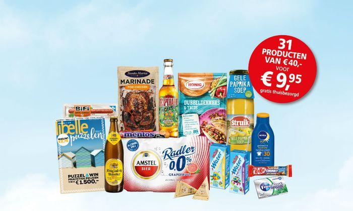 Story Boodschappenpakket € 9,95 (gratis verzending)