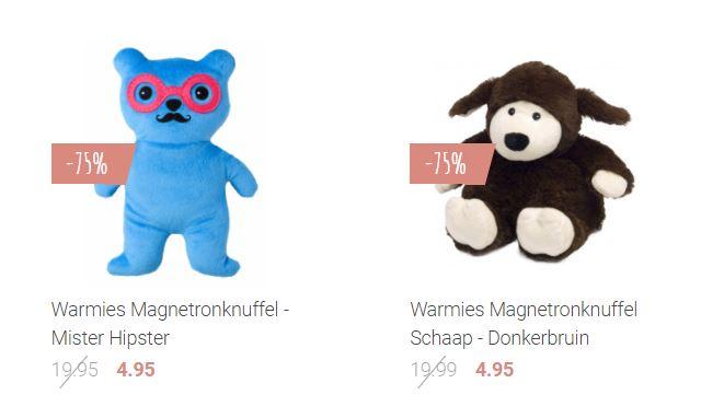 [UPDATE] Warmies magnetronknuffels -75/80% - nu €4,95 p.s. @ Living.nl