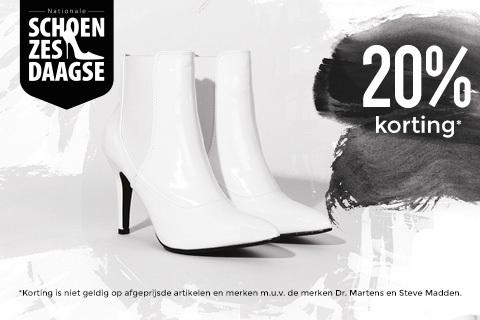 Schoen6daagse - 20% korting - ook op sale @ Sacha
