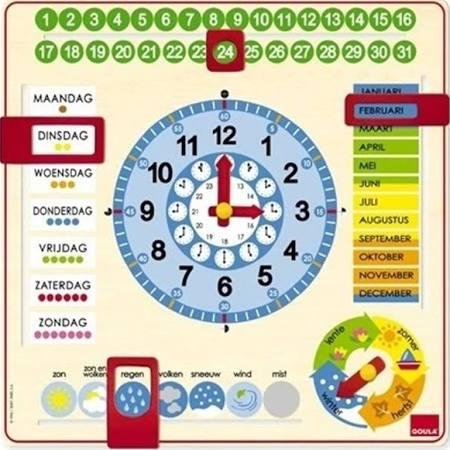 Gaula Kalenderklok voor €12,45 @ Gezelschapsspellenshop