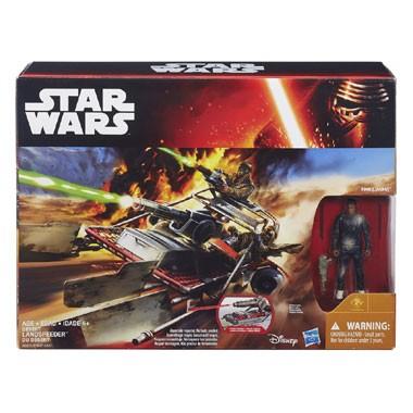 Star Wars: The Force Awakens Landspeeder voertuig + Finn Jakku figuur voor €19,98 @ Bart Smit