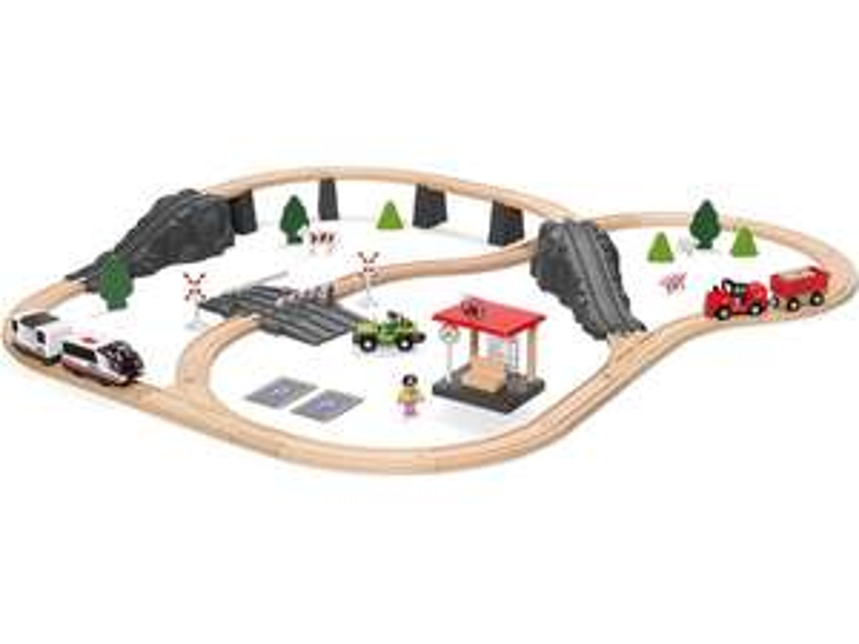 Playtive houten treinbaan en veel ander houten speelgoed in de aanbieding @ LIDL